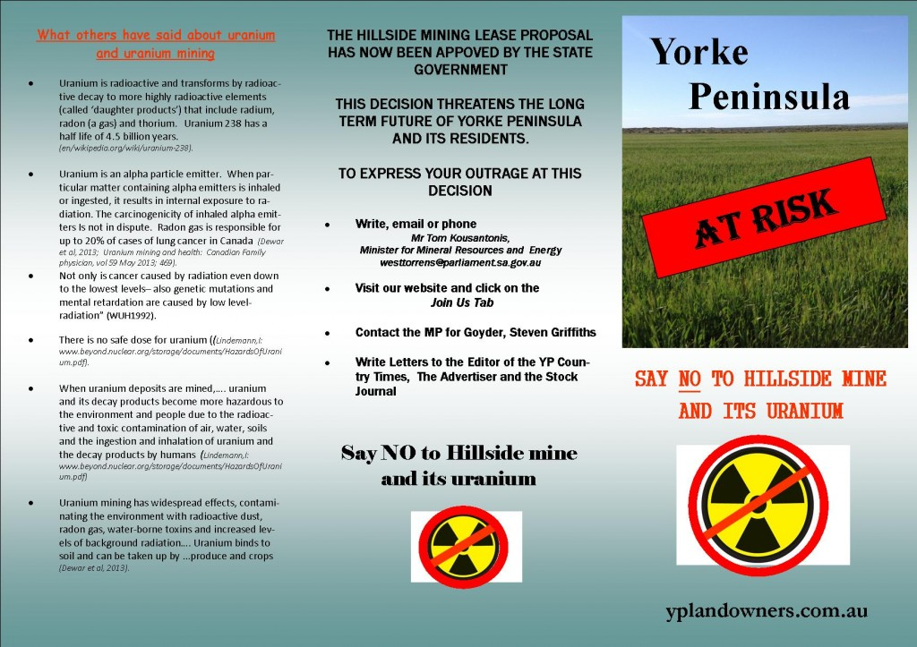 flyer for rally  uranium modified tony 4