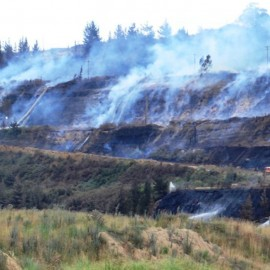 The Hazelwood Mine Fire Implications for Rex Minerals' proposed Hillside Mine