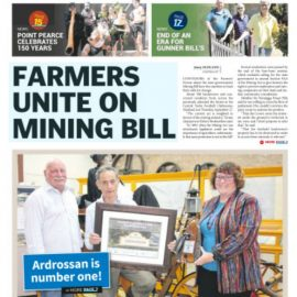 FARMERS UNITE ON MINING BILL